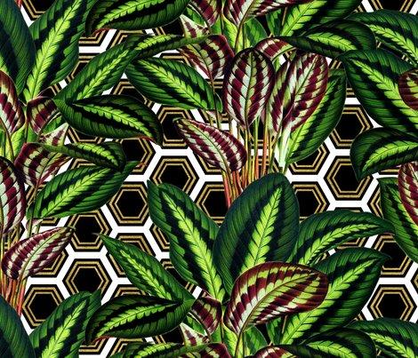 Palms_on_polygon_white_black_gold1_shop_preview