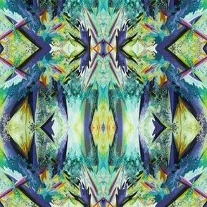 AF1 Mini Alien Fantasy in  aqua, gold, blue, purple