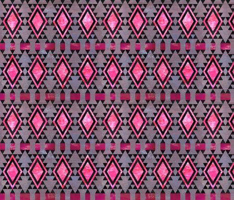 kilimkind diamond 5e fabric by schatzibrown on Spoonflower - custom fabric