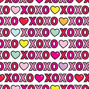 aloha xoxo with hearts
