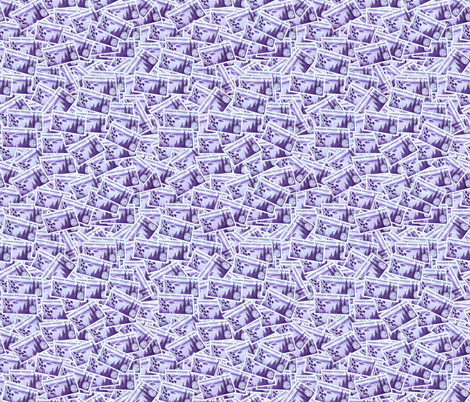 MN State Stamp Deeper Purple fabric by millcitytextiles on Spoonflower - custom fabric