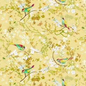 Bird + the Bees (Butter Yellow) SMALL