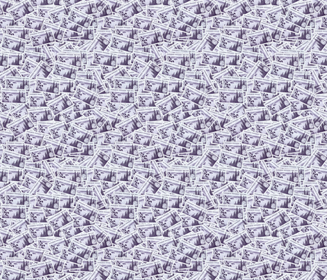 MN State Stamp Light Purple fabric by millcitytextiles on Spoonflower - custom fabric