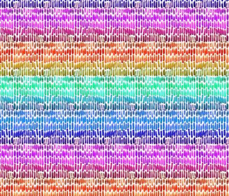 watercolor rainbow fabric by mrshervi on Spoonflower - custom fabric