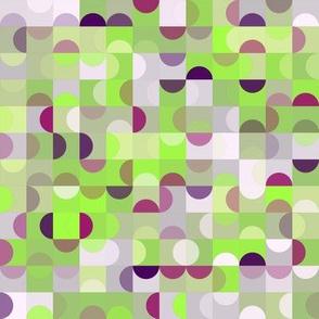 Modern Dots Lime