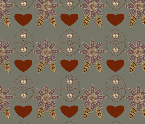 scandinavia-heather-ingrid-sf-feb-7 fabric by margiecampbellsamuels on Spoonflower - custom fabric