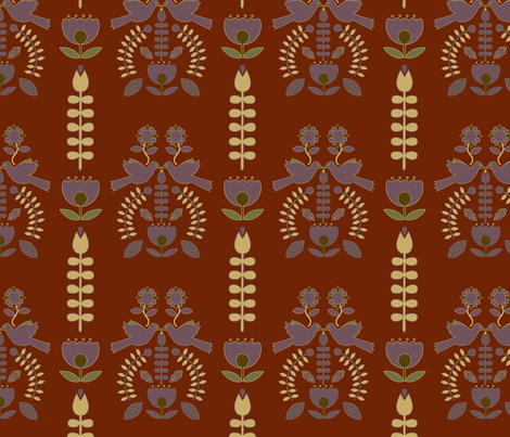 scandinavia-heather-sonia-sf-feb-7 fabric by margiecampbellsamuels on Spoonflower - custom fabric