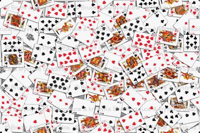 Playing cards Pattern 1.971 x 2.75 - Black Backs