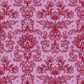 red lace lilac