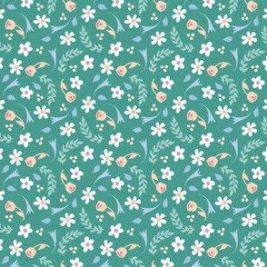 Timeless B - Daisy, Teal