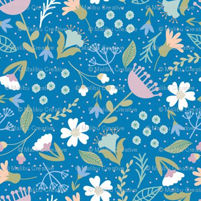 Timeless B - Wildflower, Blue