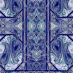 Paisley Leaf Blues