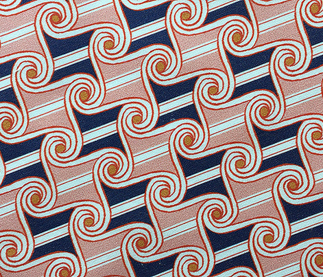 Scrolls & Stripes* (Mona) || Egypt Egyptian geometric hand drawn waves