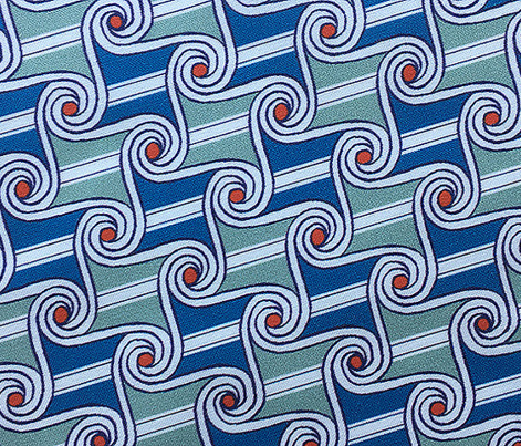 Scrolls & Stripes* (Camouflage) || Egypt Egyptian geometric hand drawn waves