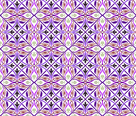 moyen age 451 fabric by hypersphere on Spoonflower - custom fabric