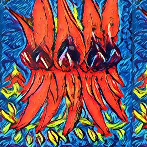 Sturt pea large canvas