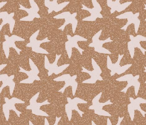 farmhouse swallows fabric by farreystudio on Spoonflower - custom fabric