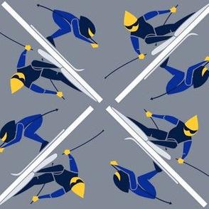 Ski Race for Wallpaper