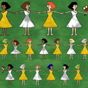 sisterhood & flowers