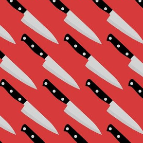 knife red