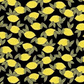 lemon leaf black