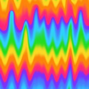 Rainbow Wave Pattern