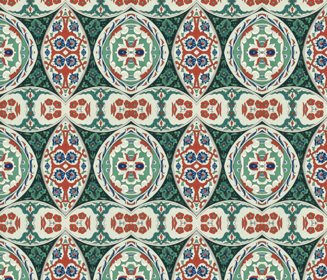 indo-persian 312 fabric by hypersphere on Spoonflower - custom fabric