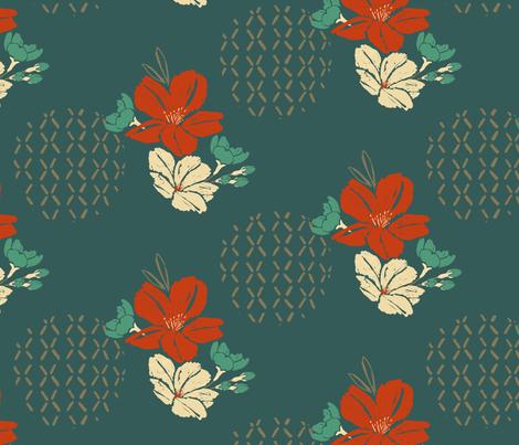 Blossom_PatternMIID 3 fabric by erinsternbergdesigns on Spoonflower - custom fabric