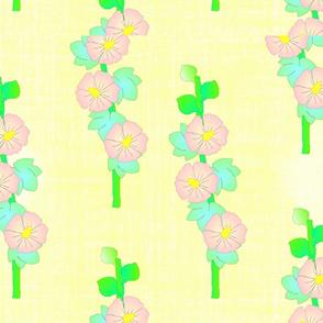 FLOWER HOLLYHOCK