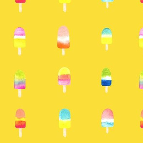 ice cream yellow