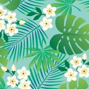 Tropical Island Floral