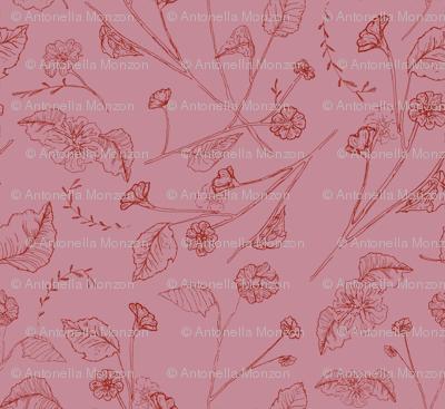 raport flores pink peach