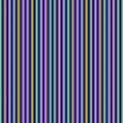 Small Stripes purple and yellow on navy