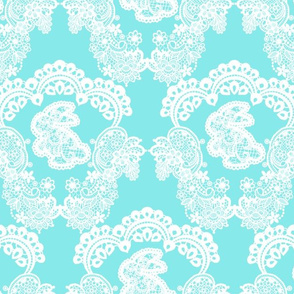 Blue Bunny Lace
