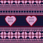 Light-Orchid Heart God Box