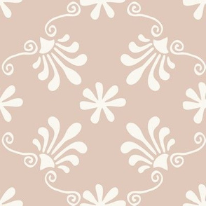 Greek Mermaid - H White, Pink