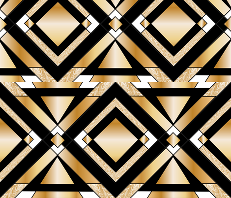 Deco fabric by zestfully_me on Spoonflower - custom fabric
