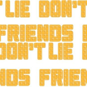 friends don't lie stranger things eggo