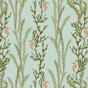 Seahorse Seaweed - Light Mint