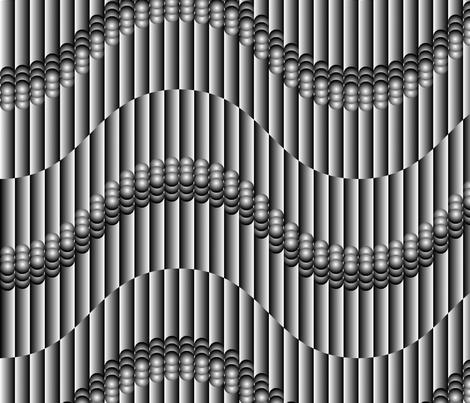 Deco Wave fabric by enid_a on Spoonflower - custom fabric