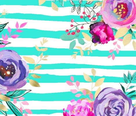 Bouquets-pattern-on-mint-stripes_shop_preview