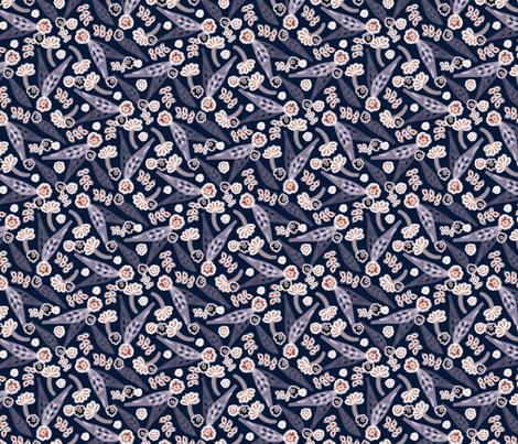 Playful Petals fabric by mea_rae on Spoonflower - custom fabric