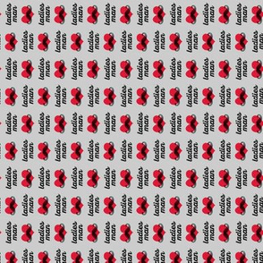 (micro scale) ladies man - grey (90) C18BS