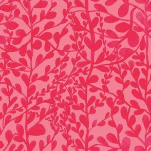 floral pattern pink