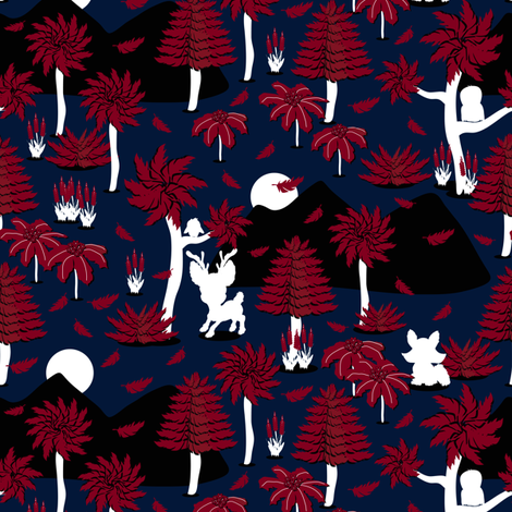Otherworldly fabric by everhigh on Spoonflower - custom fabric