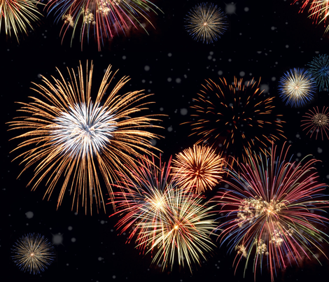 Summer Fireworks fabric by ampersand_designs on Spoonflower - custom fabric