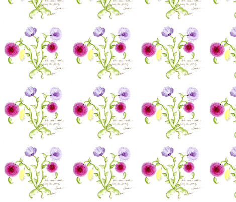 The Same Seed fabric by lissikaplan on Spoonflower - custom fabric
