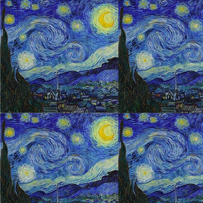 Starry Night 18x21