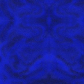 The Blues_Smoky Swirls_Textured_Deep Blue