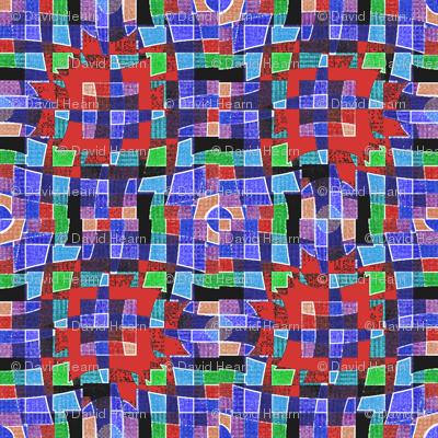 Paper Plaid (Blue)